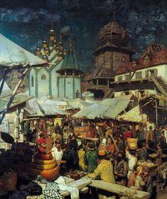Russian Painting, Russian Art, Russian Style, Pictures Of Russia, Ukraine, Catalina La Grande, Medieval Paintings, Ukrainian Art, Antigua