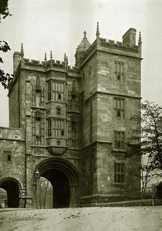 St Augustines Gate with a classical Norman Arch