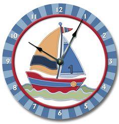children's sailboat clocks - Google Search