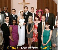 Jim and Pams wedding