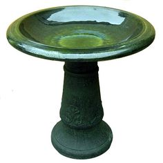 Special Offers - Exaco Trading FM-0203G Endura Clay Florentine Marbleized Birdbath Green (Discontinued by Manufacturer) - In stock & Free Shipping. You can save more money! Check It (October 03 2016 at 09:50PM) >> http://birdhouseusa.net/exaco-trading-fm-0203g-endura-clay-florentine-marbleized-birdbath-green-discontinued-by-manufacturer/