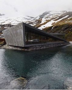 Trollstigen Visitor Centre By Photographer: --- Visir our shop canvart art --- drawing architecture portfolio design old photography model concept presentation art architecture plan building logo facade interior architecture sketchbook architecture Architecture Design, Concrete Architecture, Contemporary Architecture, Amazing Architecture, Landscape Architecture, Natural Architecture, Architecture Sketchbook, Contemporary Art, Brutalist