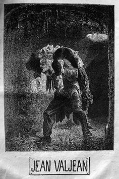 Les Misérables - Dernier volume - Le blog de Vieux papiers Jean Valjean, Les Miserables Marius, Illustration Art, Illustrations, Expositions, Light Project, Musical Theatre, Book Covers, Theory