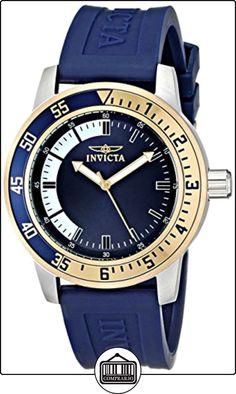 Invicta 12847 - Reloj para hombre color negro / azul de  ✿ Relojes para hombre - (Gama media/alta) ✿