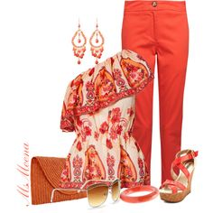 Off the shoulder, created by msmeena on Polyvore