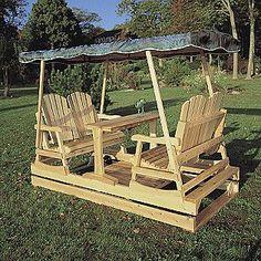 Cedar Looks -Natural Cedar Patio Glider, outdoor living, Sears, on sale, $854