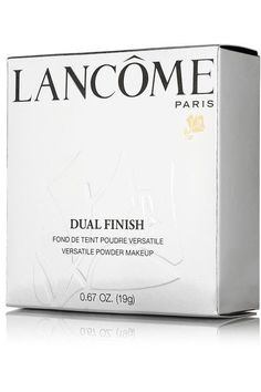 Lancôme - Dual Finish Versatile Powder Makeup - Matte Porcelaine Delicate I 100 - Neutral - one size