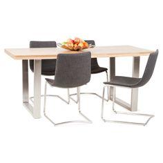 Chaise Design Et Moderne NAPLES Noir