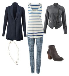 """Grids and Stripes"" by kirsten-dolan on Polyvore featuring CAbi and BP."