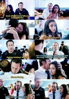 Steve McGarrett, Danny Williams, and Grace