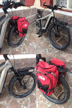 Sherpa para Suntour Qloc delantera sobre una Riese & Muller Supercharger. Man, Motorcycle, Pictures, Motorcycles, Motorbikes, Choppers
