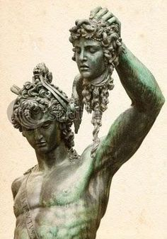 Perseus and Medusa by Benvenuto Cellini, 1554 In Greek mythology, Medusa was a Gorgon. Greek And Roman Mythology, Greek Gods And Goddesses, Medusa Gorgon, Roman Gods, Winged Horse, Greek Art, Ancient Greece, Ancient History, Paintings