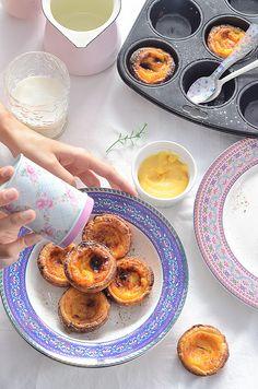 ¡Qué cosa tan dulce!: Pastéis de Belém (pasteles de nata portugueses)