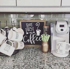 But first coffee sign Coffee sign But first coffee Kitchen