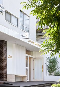 Lapuan Kankurit and their long-term distributor opened their first flagship store in Omotesando, Tokyo in the beginning of October SELECTED PRODUCTSMana and Takashi Kobayashi from Tokyo have designed the store, as well as the stores of Lapuan Exterior Signage, Store Displays, Helsinki, Brick Wall, Natural Materials, The Good Place, Tokyo, Japan, Outdoor Decor