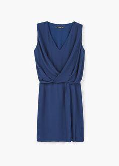 Zakładana drapowana sukienka