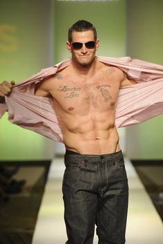 I'm not into football but definitely into Steve Weatherford from the Giants..