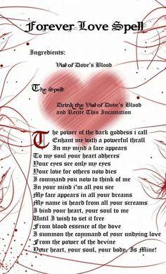 For ever love spell