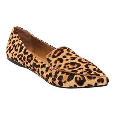 2850c7df2844 Women s Steve Madden Feather Loafer - Leopard Calf Hair Loafers