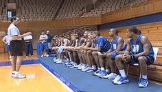 Teaching Basketball by Drill Progression - Duke Coach Mike Krzyzewski - Coach's Clipboard #Basketball Coaching