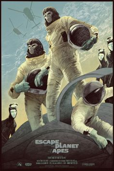 Mondo: The Archive | Rich Kelly - Escape from the Planet of the Apes, 2012.