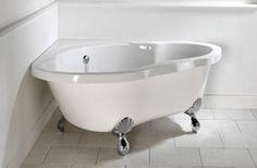Corner Clawfoot Tub