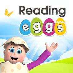 Reading Eggs is the online reading program that helps children learn to read. Hundreds of online reading lessons, phonics games and books for ages 2–13. Start your free trial! #AnniversaireJeuxVideo Reading Eggs, Kids Reading, Teaching Reading, Learning, Free Reading, Reading Games, Reading Lessons, Reading Skills, Reading Programs For Kids
