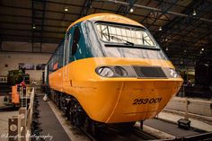 Class 43 No. 43002 Sir Kenneth Grange has joined the National Railway Museum's collection after more than 40 years in service. National Railway Museum, Train Service, Public Display, British Rail, Speed Training, Power Cars, Great Western, Rolling Stock, Electric Locomotive