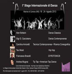 Stage Internazionale di Danza « weekendinpalcoscenico la danza palco e web | IL PORTALE DELLA DANZA ITALIANA | weekendinpalcoscenico.it