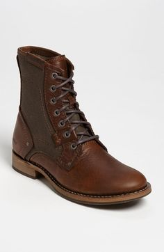 Caterpillar 'Abe' Boot (Men) at Nordstrom.com.  Reminds me of my dad's Army boots, but with A LOT MORE STYLE. Really good looking.