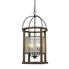 Found it at Wayfair - Mission 4 Light Candle Chandelier