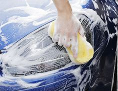Three or Five Exterior Car Washes or Deluxe Car-Wash Package at Zoom Clean (Up to Off) Car Cleaning, Cleaning Hacks, Caravan, Interior Car Wash, Interior Design, Interior Barn Door Hardware, Hand Car Wash, Tire Shine, Global Home