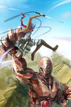 Attack on Titan x Evangelion