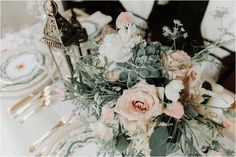 French Inspired Wedding Dessert Table | Julie MacKinnon Photography