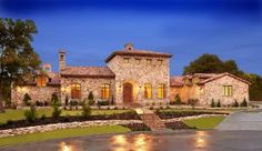 Luxury Tuscan designed home in Austin Texas