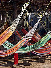 One of Colombias deserts: La Guajira, Colombia Hammock Swing, Hammocks, Hammock Ideas, Colombian Culture, Colombia Travel, South America Travel, Good Sleep, Heaven On Earth, Ecuador