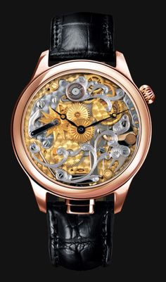 NIVREL Repeater watch 'Piece Unique', model Flower, Reference N 950.001.