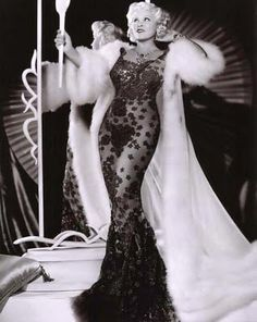 Mae West dressed by Schiaparelli