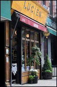 Lucien Restaurant...NYC