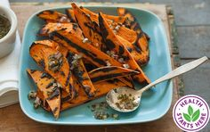 Sweet Potatoes with Cilantro-Lime Dressing