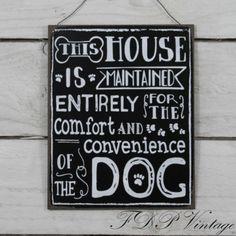 Vintage-Signs-Chic-Metal-Plaque-Slate-Humorous-Sayings-Home-Garden-Pet-Friend