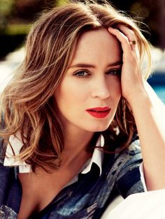 Emily Blunt, photographed by Alexi Lubomirski for Harper's BAZAAR UK, July 2014.