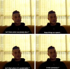"""Rami Malek as Elliot Alderson, Mr. Robot - 2x01: """"You might not think it a way to live, but why not ? Repeating the same tasks, each day, without ever having to think about them…"""""""