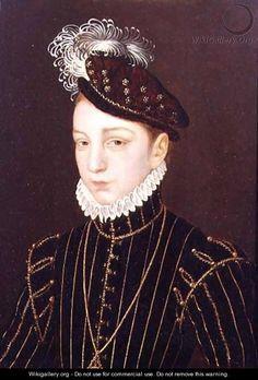 Portrait of Charles IX - Francois Clouet