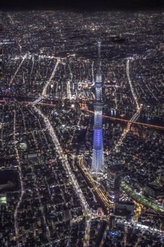 """""""Tokyo Tower and Tokyo Sky Tree photographed from a helicopter by Japan Landscape, City Landscape, Tokyo Tower, City Photography, Aerial Photography, Beautiful World, Beautiful Places, City From Above, Tokyo Skytree"""