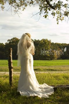 Ⓒ Blest Nest Photography | Ashley Taylor  #wedding #love #country #bridal