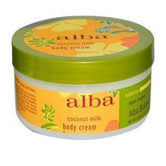 JUST IN: Alba Botanica Coc.... SHOP NOW! http://www.zapova.com/products/alba-botanica-coconut-milk-body-cream-1x6-5-oz?utm_campaign=social_autopilot&utm_source=pin&utm_medium=pin