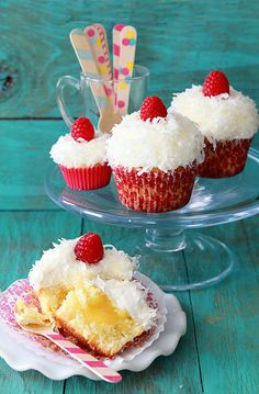 Limoncello  Coconut Cupcakes | Bakers Royale