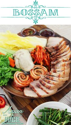 """Hi guys! Today I'm sharing one of true traditional Korean recipe! We call """"Bossam"""". Ssam means wrap and Bossam means wrap with lots of generous stuffing inside. Commonly, it serves with boiled meat: Suyuk. Suyuk is one of Korean cooking techniques of cooking meat. """"Su"""" means water and """"Yuk"""" means meat in Chinese. Although … … Continue reading →"""