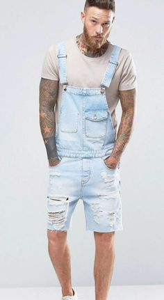 Overol Overall  Men's overall  Men's fashion  Overall men  Overall short